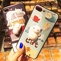 3D Squishy Cat Case for iPhone 6 6S 7 7 Plus Funny Poke Animal Thin Girly Phone Cases for iPhone 7 7 Plus 6 6S Plus Squishy Case