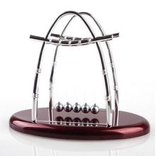 Newton's Cradle Balance Ball Physics Science Fun Desk Toy Accessory Office Gift
