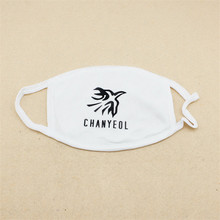 1PC Kpop EXO CHANYEOL Cotton Dustproof Mouth Face Mask Unisex Cycling Anti-Dust Facial Protective Cover Masks 18549