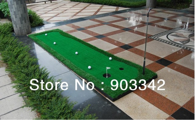High quality Golf Putting Green Mat 19.7*118 inch Indoor Golf ...
