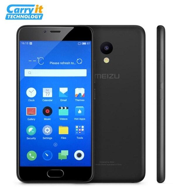"""Оригинальный Meizu M5 32 ГБ 3 Гб глобальной прошивки OTA MT6750 MTK Octa 5.2 """"1280x720 13.0MP двойной SIM-карты смартфона смартфона отпечатков пальцев"""