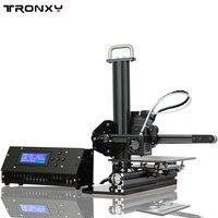 Tronxy образование 3d принтер DIY Набор Высокоточный Рабочий стол алюминиевый профиль 3d Imprimante X1
