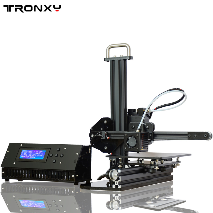 Tronxy Education 3d printer DIY kit High Precision desktop aluminium profile 3d Imprimante X1 rodania 25160 29