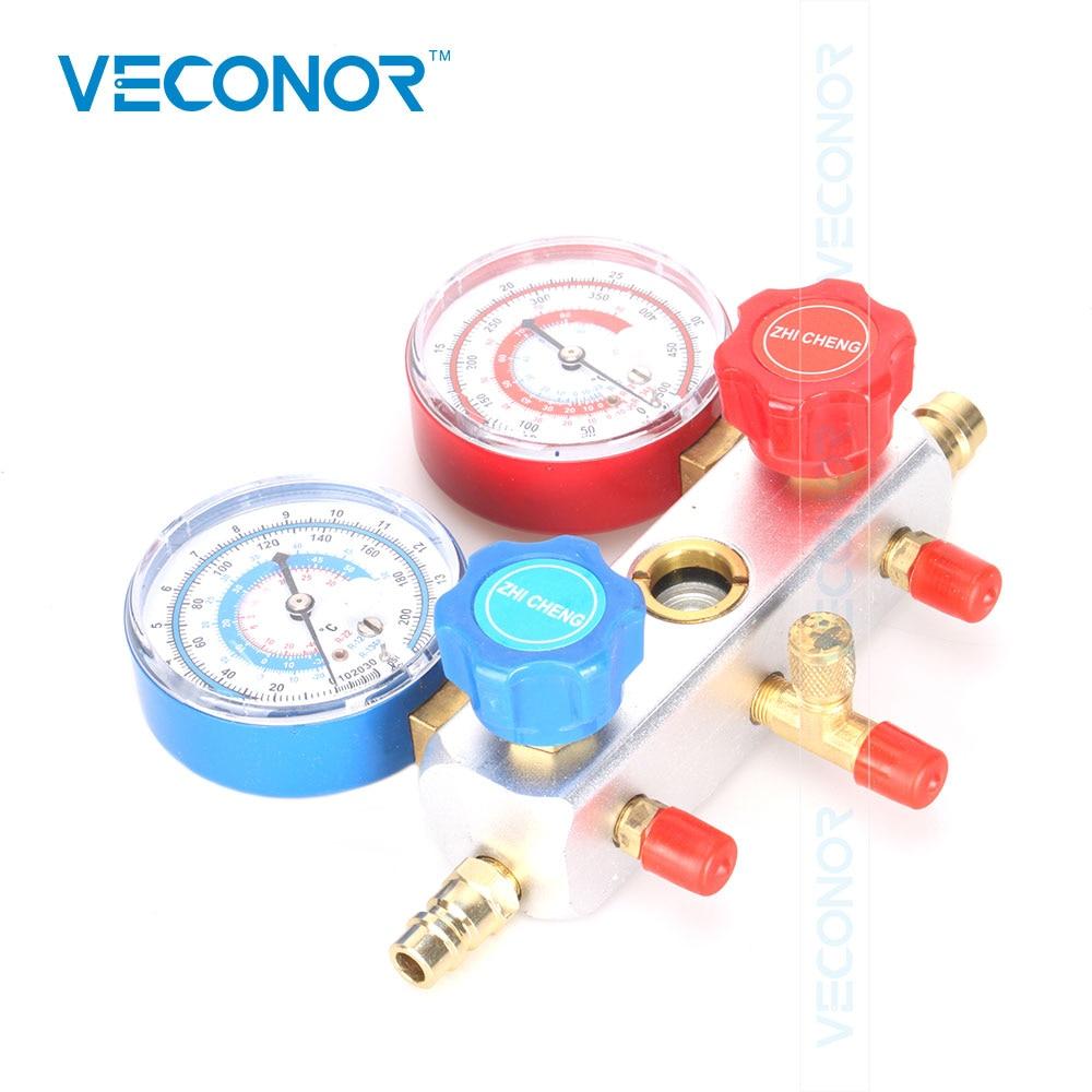 Automotive Air Conditioning Refrigerant Tables AC Diagnostic Tool Manifold Gauge