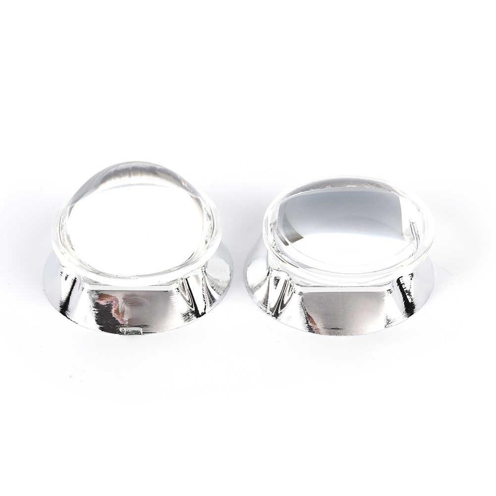 44 мм оптические светодиодные стеклянные линзы 60/120 градусов + 50 мм рефлекторный коллиматор + фиксированный кронштейн для 20-100 Вт COB чип высокой мощности