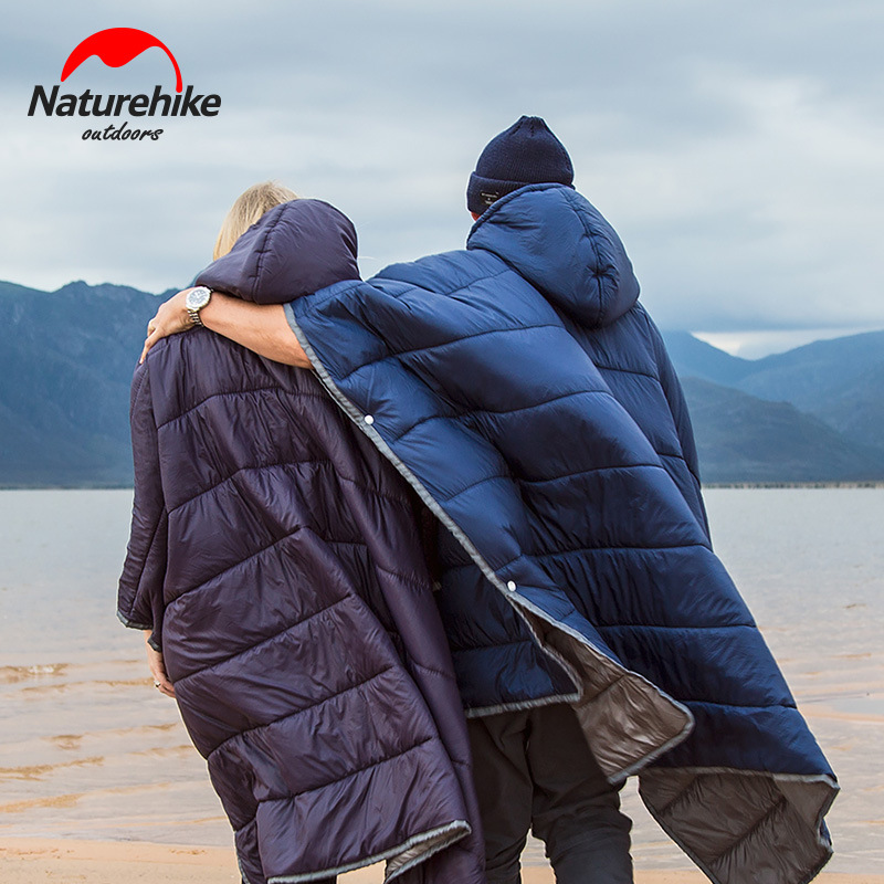 Naturehike Noke Portable Camping Quilt Outdoor Warm Camping Sleeping Bag Travelling Men's And Women's Wear Cloaks