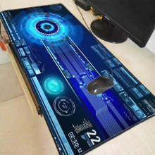 Mairuige Large Size DJ Pattern Keyboard Mouse Pad Natural Rubber Material Waterproof Gaming Speed Version Game Player
