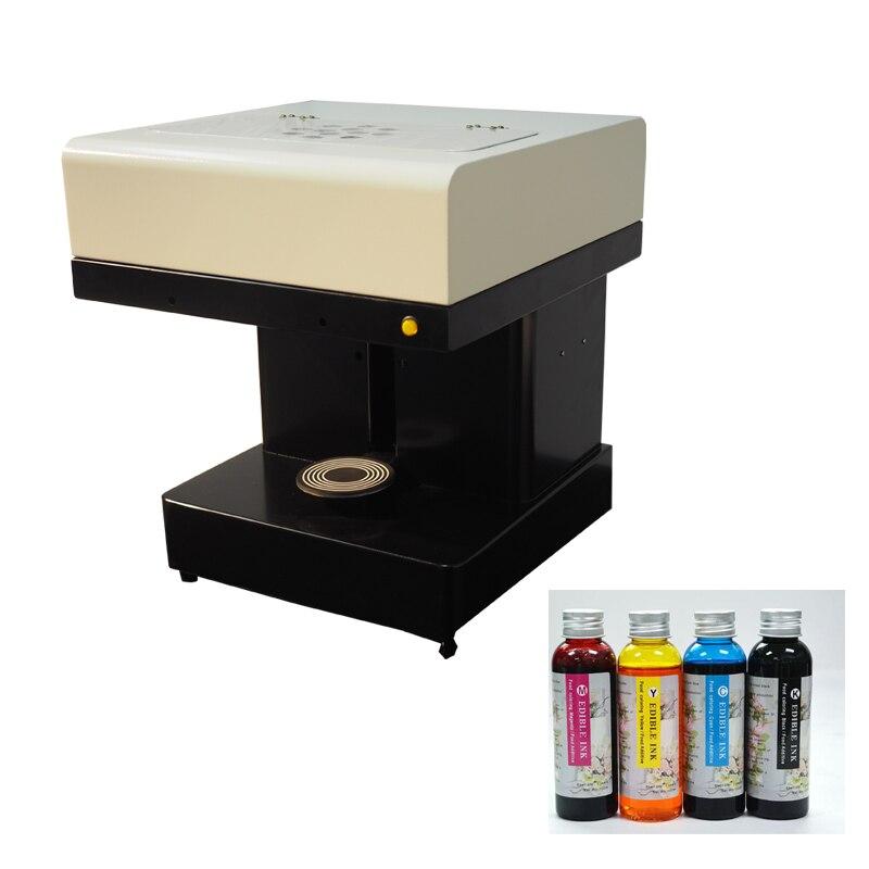 Automatique Selfie Mousse Café au lait machine d'impression présent 4*100 ml d'encre Meilleur après-service disponible