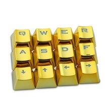Клавиатура KeyCap набор FPS MOBA игровые Keycaps Cherry MX механическая клавиатура WASD кнопки с ключом Съемник двухцветный набор клавишных колпачков