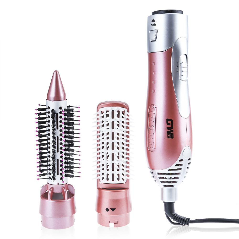 GW Professional Hair Curler Dryer Comb Curling Drying Function 2 in 1 Comb Multifunctional Styling Salon Tools Sets Hairdryer professinal multifunctional hairdryer curler hair curling straightening diffuser comb brush hair dryer styling tools home use 47