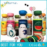 10pcs/lotCreative cartoon fruit glass anti - ironing tape sets of advertising gifts gift cups