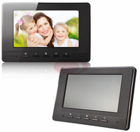 Monitor Intercom 7 inch Kleuren TFT LCD Indoor Monitor Home Video Intercom Deurintercom Wit En Zwart Kleur Kiezen 100 V-240 V