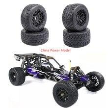 TARMAC BUSTER передние и задние колеса на дороге и шины утолщенные шины для 1/5 масштаб HPI KM Rovan BAJA 5B SS
