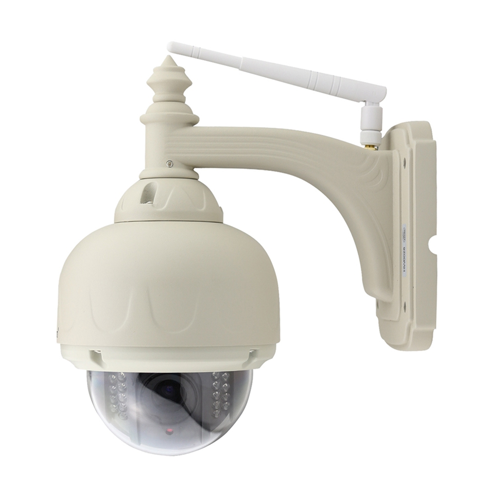 WANSCAM HW0028 960P IP Outdoor PTZ Camera Support ONVIF Night Vision Motion Detection Email Alert Support Email Photo Alert email