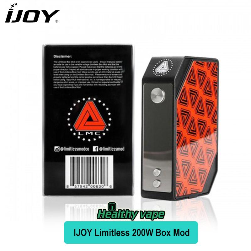 Prix pour Nouvelle Version D'origine Illimitées LMC 200 W TC Boîte Mod Kit Avec Plaques Interchangeables Électronique Cigarette Mode USA Vaporisateur