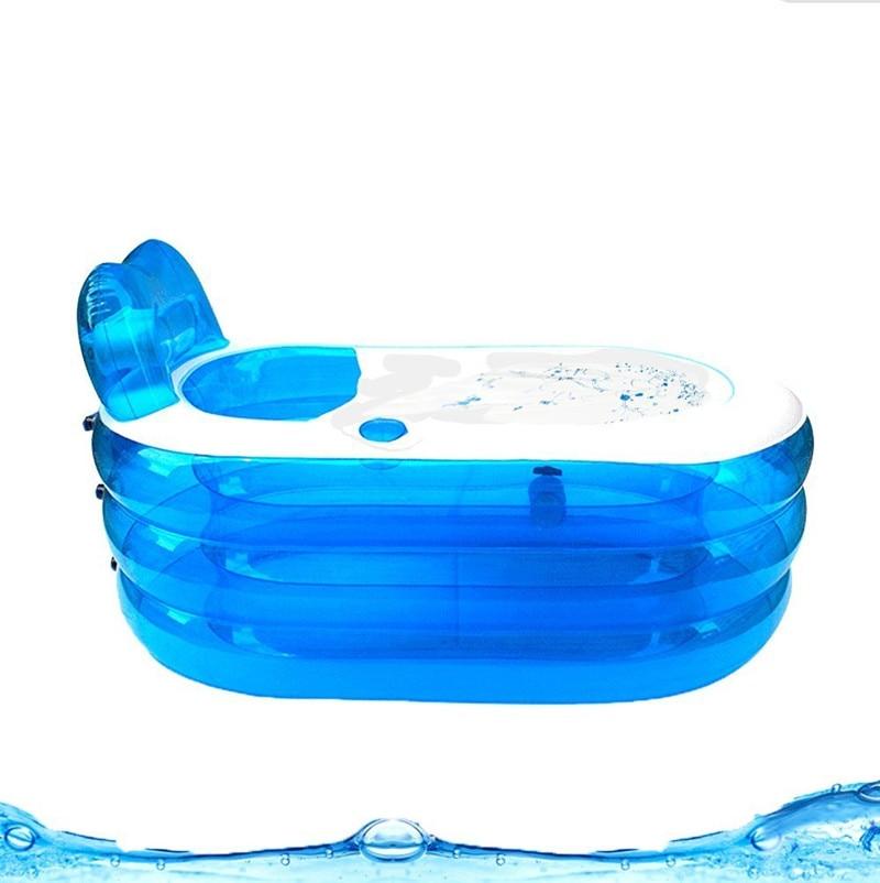 nuovo pieghevole durevole adulto spa gonfiabile vasca da bagno con pompa di aria elettricachina
