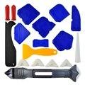 Набор инструментов для нарезки  18 шт.  3 в 1  инструменты для нарезки  силиконовый герметик  Отделочный Инструмент  скребок для нарезки  насадк...