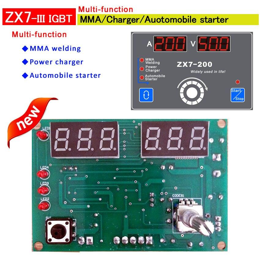 Многофункциональный пульт управления MMA сварки и Мощность зарядное устройство и автомобильный стартер Specical разработан