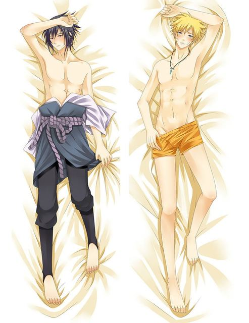 Japan Anime   Hugging Body Pillow Case 150*50  612077  NARUTO  Uchiha Sasuke