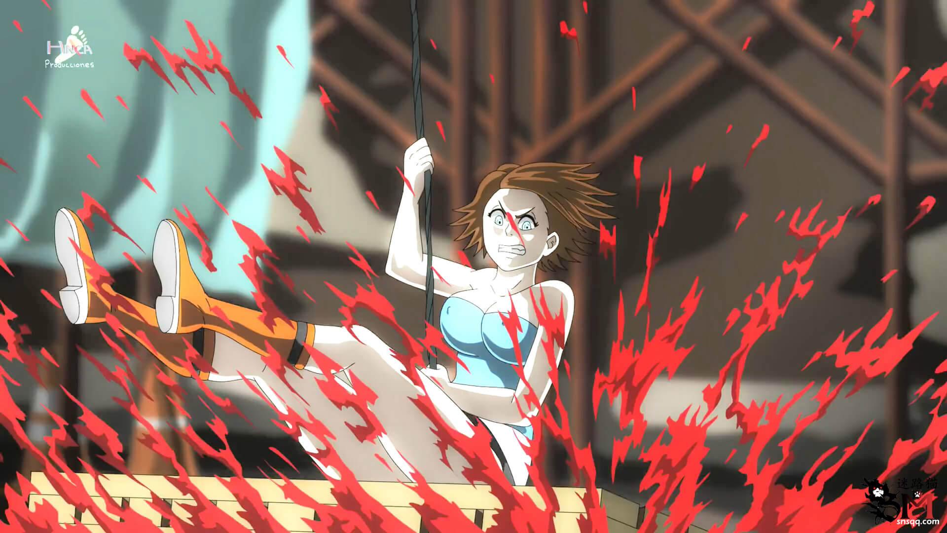 生化危机动画版-Ryona和Vore等猎奇元素混合Exposed虐打
