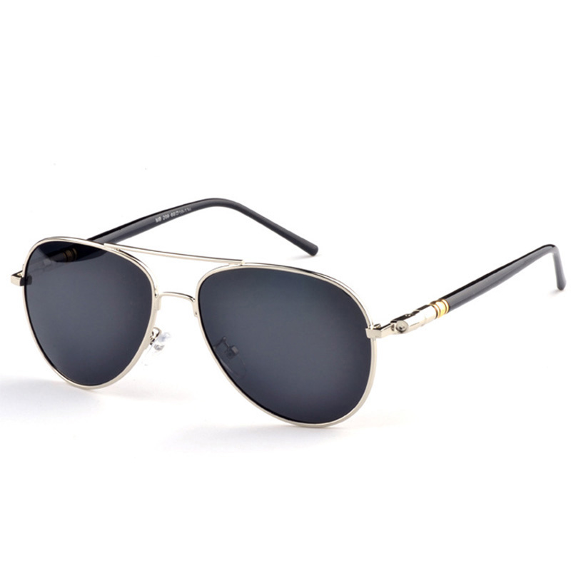 d2e3157ab8e Best buy Sunshining Glasses Round Metal Sunglass Clout Goggles Polaroid  Sunglasses Women High Quality Shades For Men Brand Designer online cheap