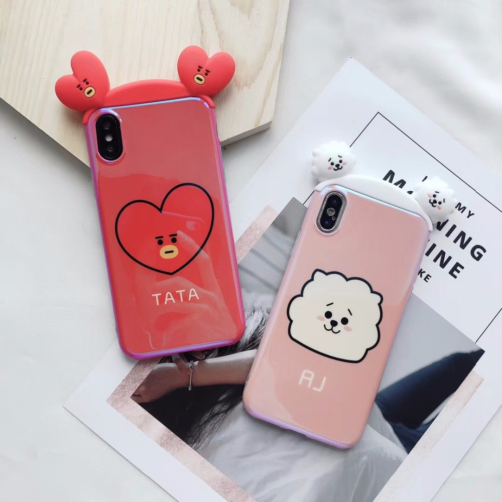 3D BT21 Case for iPhone