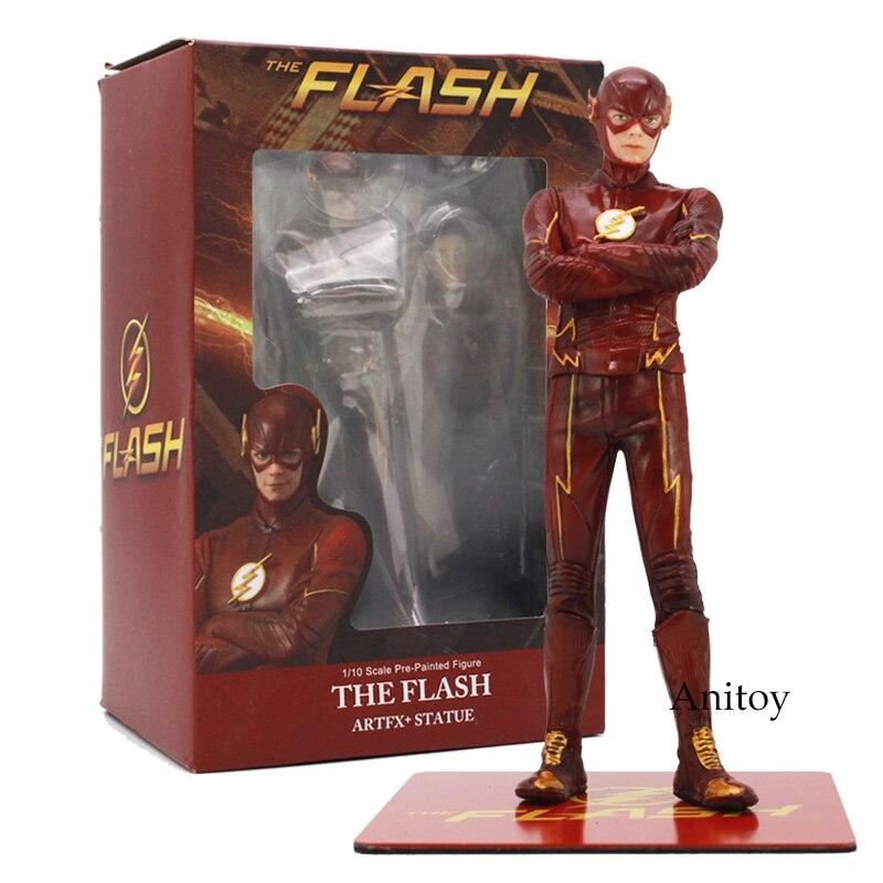 The Flash 1/10 Scale Pre-Painted Figure Artfx+Statue Allen Doll PVC Action Figure Toy 16.5cm