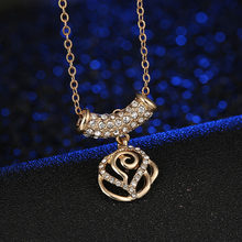 Small accessories crystal accessories full rhinestone decorative pattern necklace pendant 103 - 50(China)