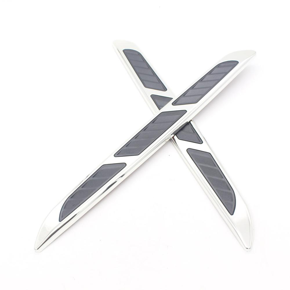 Wing hood ornament - Car Stickers Air Outlet Side Air Outlet Hood Ornament Fit For Lexus Ct200h Es250 Es300 Es300h