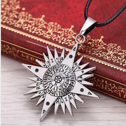 Black Butler Anime D Grayman Allen Logo Pendant Necklace Jewelry