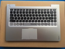 New Original Lenovo Ideapad U330 U330P Palmrest Keyboard US English Version Bezel Top Upper Case Cover Silver