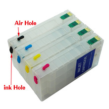 1 set With Auto Permanent Chip Ink Cartridge For Epson IC92M IC92L PX-M840 M840 PX-S840 S840 Printer Cartridge IC92