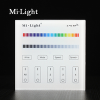 Milight B3 4 Zone RGB RGBW Smart Panel Remote Controllerr For Led Strip Light Lamp Or