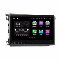 Android 7 1 Quad Core 10 1 Car Radio Dvd GPS Multimedia Player For Honda Civic