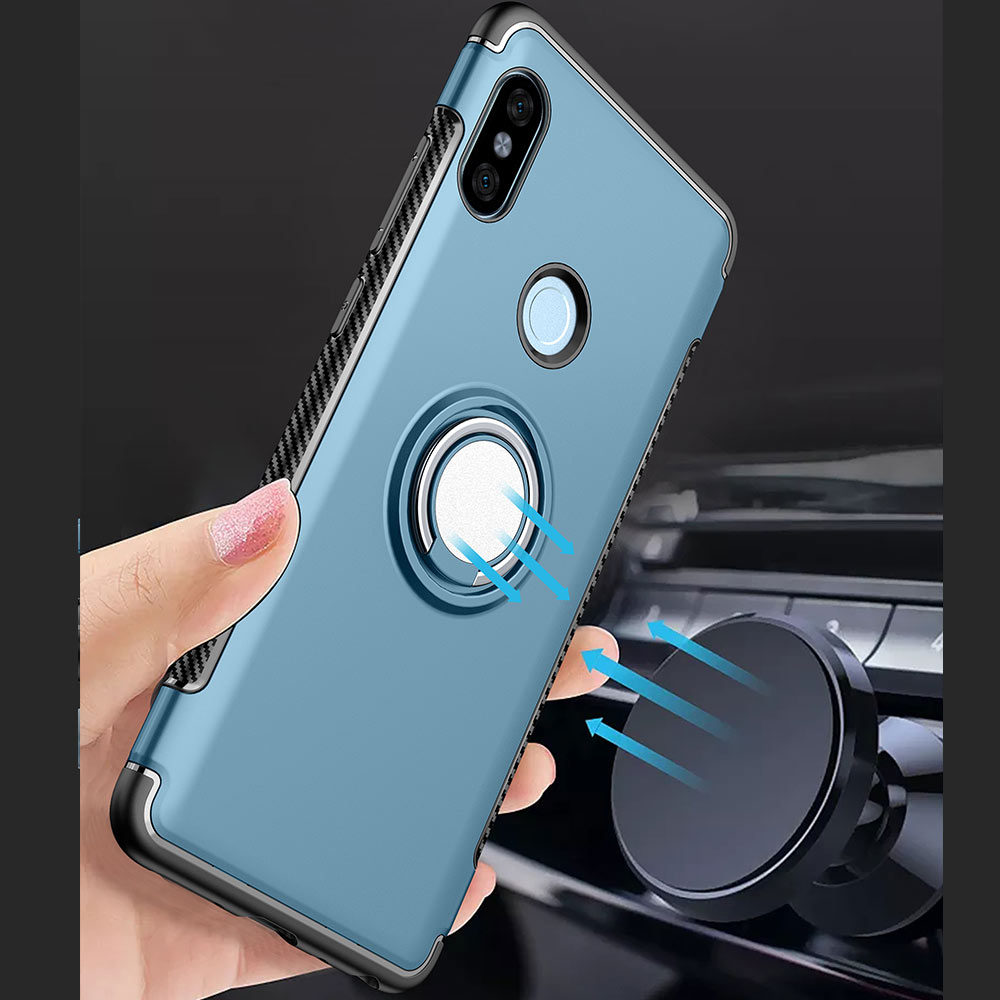 YOYO DEER Hybrid Case for Xiaomi Redmi Note 5 Note5 Global Version Magnetic Car Holder Cover for Redmi Note 5 Pro Phone Cases