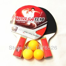 High quality table tennis racket table tennis racquet & ball racket