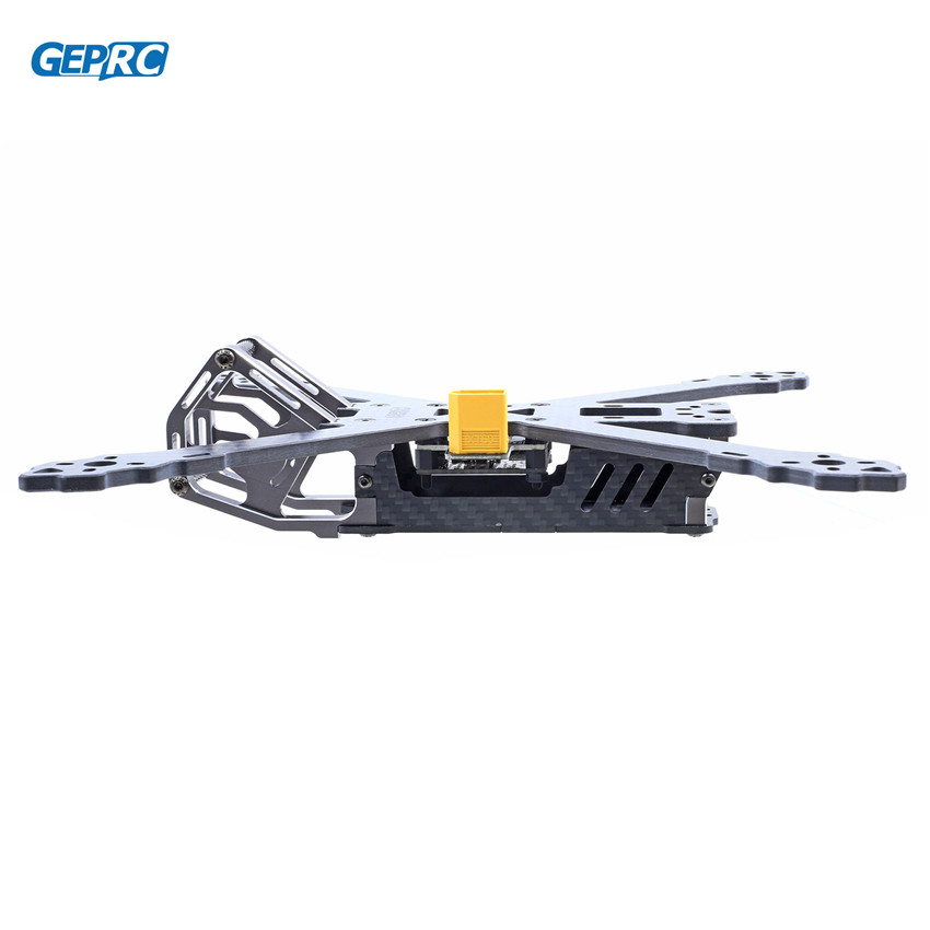 GEPRC GEP-KX5 Elegant 243mm Frame 4mm Arm X Type w/ PDB 5V & 12V For  DIY Quadcopter geprc gep zx4 gep zx5 gep zx6 170mm 190mm 225mm 4 axis 3k carbon fiber frame kit with 12v 5v pdb board for rc multicopter