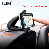 Painel Do Carro Montar Titular 360 Rotatable Opard HUD GPS Do Telefone Celular Titular Estande carro para iPhone X 8 7 Plus Samsung GalaxyS7