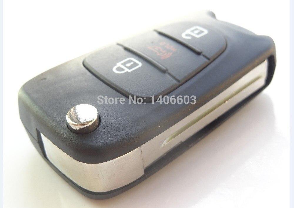 1 unid Reemplazo Plegable Shell Dominante Alejado para Hyundai Caso Fob 3B Hoja