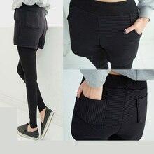5xl plus big size panty women spring autumn 2016 bermuda feminina elastic waist velvet shorts leggings female A1812