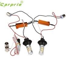 Neue Ankunft 2X1156 P21W BA15S 50 Watt 42SMD DRL Blinker Tail Reverse LED-Licht Weiß/Gelb st27