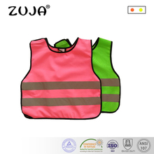 2 Colors Pink Green Kids Reflective Safety Vest Kids Hi-Vis Keep Safe цена