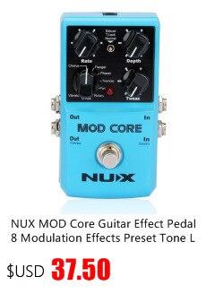 ture bypass verde de alta qualidade pedal efeito guitarra