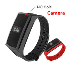 X18 Smart Band Mini Camera Watch HD 1080P Mini Camcorder Pedometer Wristband Secret Camera Voice Video Recording Cam(China)