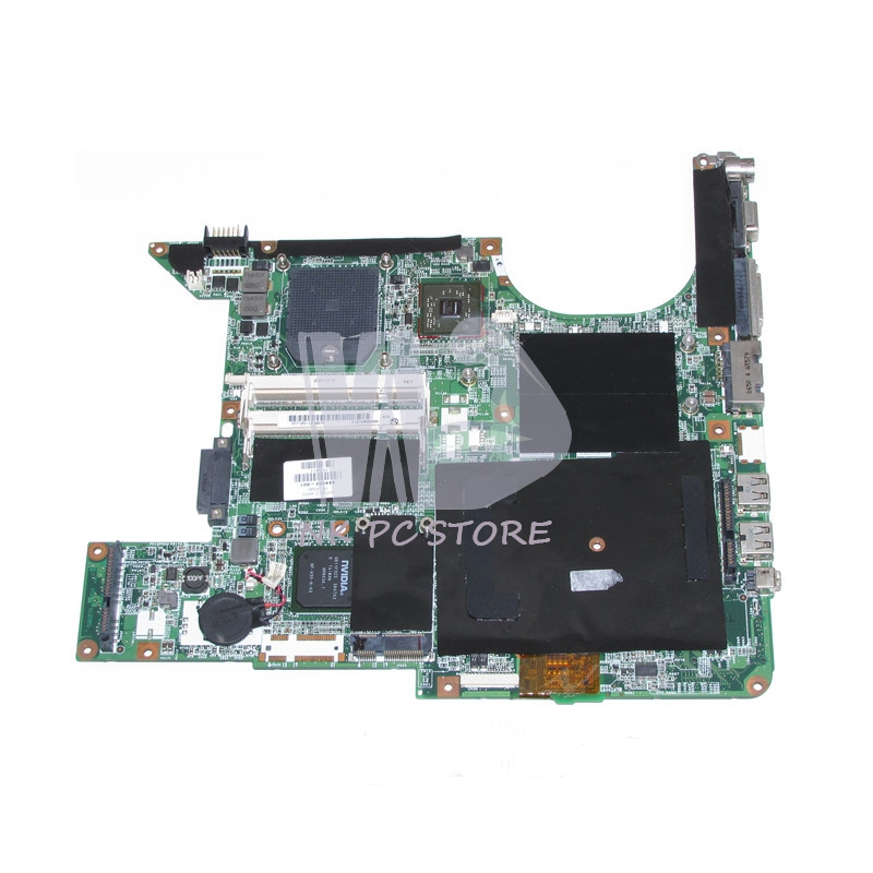 436450-001 444002-001 Main Board For Hp DV9000 V9000 Laptop Motherboard Socket s1 DDR2 with Free CPU 645386 001 laptop motherboard for hp dv7 6000 notebook pc system board main board ddr3 socket fs1 with gpu