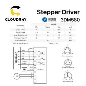 Image 5 - Cloudray leadshine 3 相 3DM580 ステッピングモータドライバ 18 50VDC 1.0 8.0A
