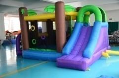 YARD Inflatable Bouncer Combo Slide Obstacle Course Kids Jumping Castle Commercial 0.55PVC