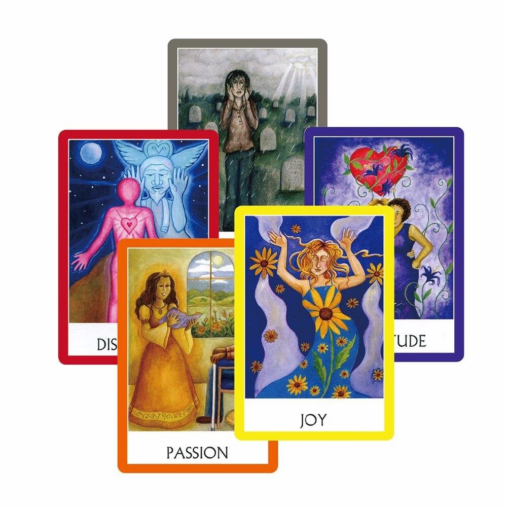 2018 yogi oracle karten deck meditation 49 karten, tarot karten beratung divination vermögen Englisch bord spiel