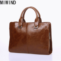 Classic Design Briefcases Bag PU Leather Laptop Bag Famous Brand Male Shoulder bags TYZ1196