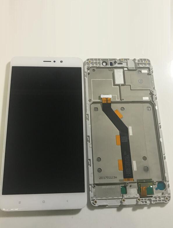 Avec cadre nouveau écran LCD et écran tactile assemblée complète pour xiaomi 5s numériseur panneau lentille en verre affichage avec outils